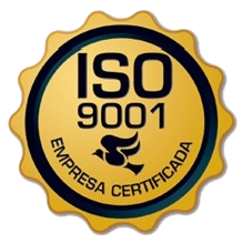 Selo ertificação ISO 9001